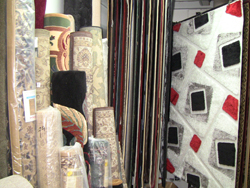 Daniel Carpet Brooklyn stocks many kinds of carpet.